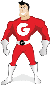 Grout Man Logo